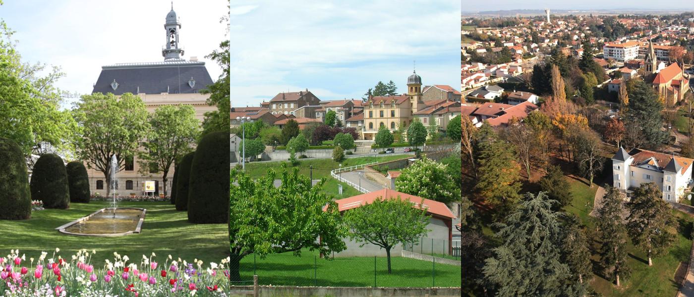 Photographies de Villefranche-sur-Saône, Saint-Laurent-de-Chamousset et Genas