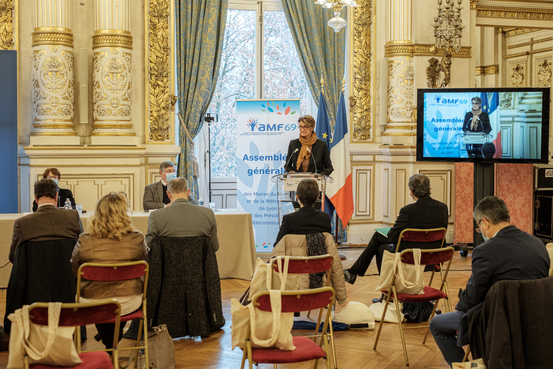 Assemblée Générale AMF 69 à la préfecture du Rhône